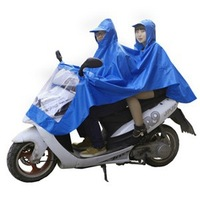 Electric cars the poncho motorcycle raincoat Bicycle Double increase raincoat poncho section of men and women free shipping BS