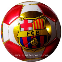 2014 World cup soccer ball & football, club ball official size and weight free with net bag and inflating pin