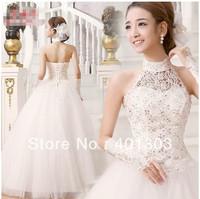 Wedding dress 2013 latest Korean Sweet Princess halter wedding diamond Qi marriage