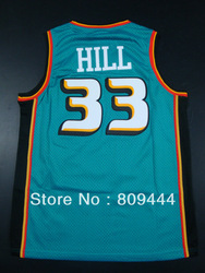 Free Shipping Detroit #33 Grant Hill 2012 Revolution 30 Swingman basketball Jersey,Size S-3XL(China (Mainland))