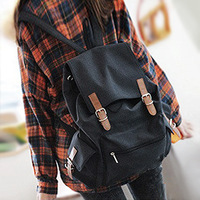 Large capacity 2013 middle school students school bag backpack bag women's handbag casual bag canvas backpack bag