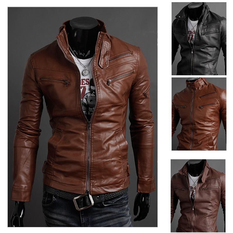 Motorcycle Leather Jackets For Men - JacketIn