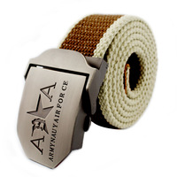 Thickening canvas belt men's casual canvas strap all-match belt lengthen