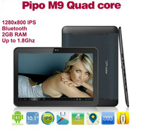 "Free shipping! IPS 1280X800 Pipo M9 10.1"" Bluetooth Quad Core 2G RAM Tablet  RK3188 A9 1.8GHZ Android 4.1 Camera WiFi HDMI"