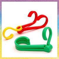 [Vic]Free shipping 10pes/lot Home & Garden wholesale double hook folding hanger hook shoes hook multifunctional hangers