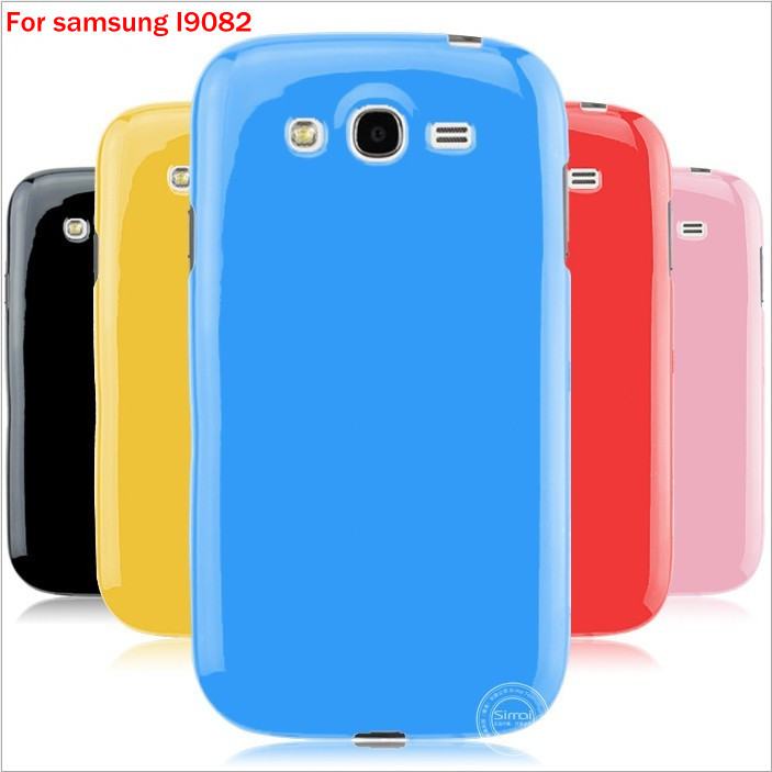 10pcs/Lot TPU soft Candy Case Cover for samsung I9082 mobilephone Gel rubber Shell Skin FreeShipping LvX-0189a(China (Mainland))