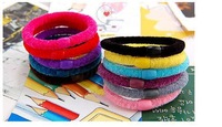 Multi-color hair bands  Free Shipping