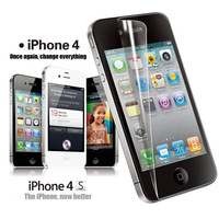 Front and back Anti-Glare Matte Screen Protector Cover Shield for iPhone 4S free shipping