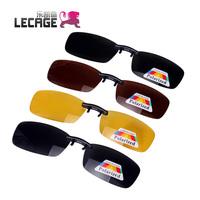 Cage myopia polarized sunglasses clip mirror myopia sunglasses clip sunglasses night vision goggles clip glasses