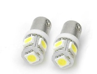 Free shipping(1 pair/ 2 pieces) BA9S 5050 SMD Car LED Bulb auto light Side Wedge Bulb Lamp