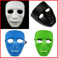 PARTY MASKS Free shipping Hallowen decoration Hip-Hop Dancer street JabbaWockeez White mask cosplay mask 10pcs/lot