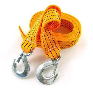 5pcs/lot free shipping Fiber trailer rope vehienlar the rope car pulling rope 3 meters 3tons