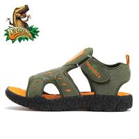 free shipping Dinosoles dinosaur children sports shoes boys summer comfortable beach shoes,   children sandals shoes 12052