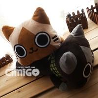 Japan design cat lovers climbing cat doll pillow cushion plush toy