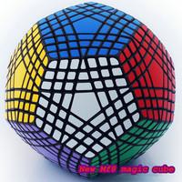 New Mf8 magic cube 12 surface 7x7 Teraminx 7-layers Megaminx Puzzle rare BLACK