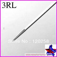 Free Shipping,50pcs/Set Sterilize Tattoo Needles Round Liner 3RL,Tattoo Machine Sterile Disposable Needles ,needles supplier