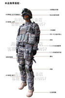 Acu 1688cs Camouflage set cs full set training uniform 1 twinset