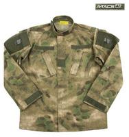 A-tacs fg Camouflage cs jungle camouflage set male uniform