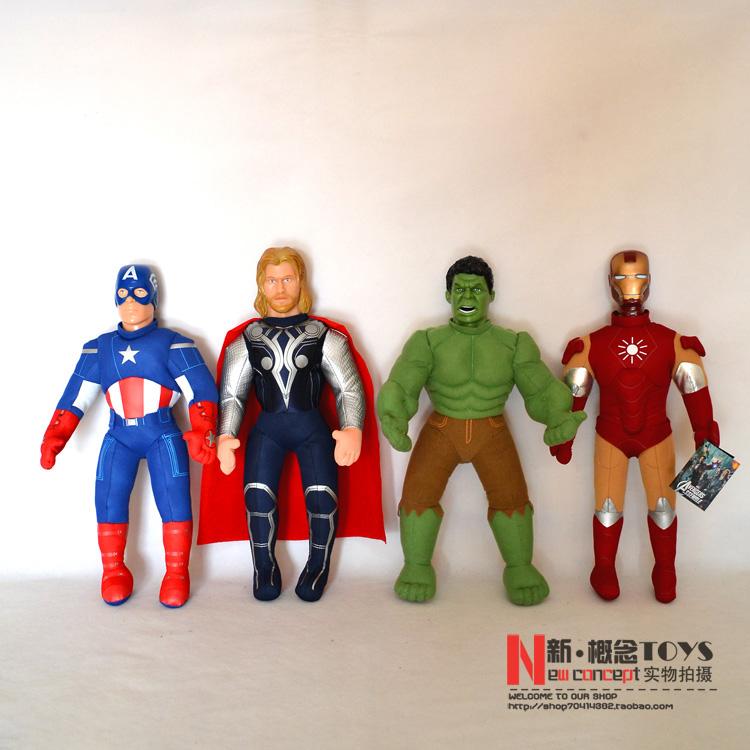 Hulk 2013 Avengers 2013 New Stuffed Toys Avengers