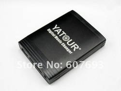 YATOUR Car Digital CD Changer Emulator auto media player audio music interface USB SD AUX YTM06 for multi choices(China (Mainland))