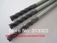 3.0*50L*3D-4Flutes HRC 50 Carbide Flat End Mill ,3MM Solid Tungsten Carbide End Mill with AlTiN Coated,CNC End Milling Cutter