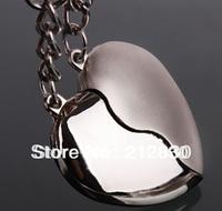 novelty items men women Lover couple brand Key Ring Chain holder finder heart accessory trinket friend gift (Min.Order is $10)