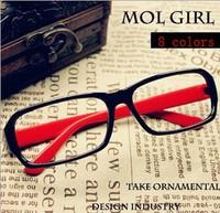 [Vic]Free shipping 10pcs/lot wholesale fashion Eyeglasses Frames optical frames Glass frame no lens more color