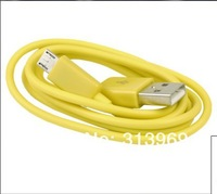 V8 Colorful micro usb data cable USB Charger Cable for Samsung Galaxy S3 1M 3feet 6 colors 10pcs/lot  promotion!