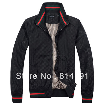 2013 spring brand name fashion men's jacket waterproof outdoor black  polo jacketssize M-XXL  free shipping