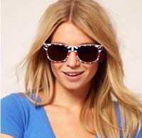 2013 new fashion Wayfarer Nerd Sunglasses Shades England British English Britain Print Flag UK 130385