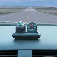 Auto car compass thermometer two-in-one car thermometer car guide the ball ,Free shipping