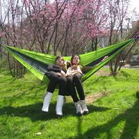 Parachute cloth hammock light hammock single double hammock canvas hammock Outdoor