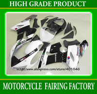 Plastic aftermarket ZX-6R 05 06 motorcycle body kits for KAWASAKI 2005 2006 ZX6R ABS white/black high grade customs body kits