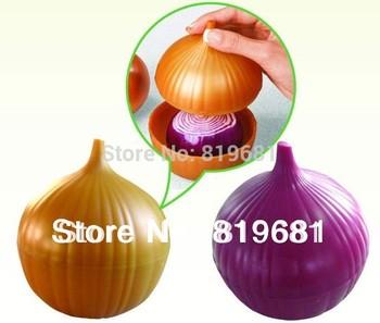 NEW ARRIVAL!Onion fruit, vegetable container,saving box,Onion saver,fresh Storage Box,keeper case, crisper,preservation box,2PCS