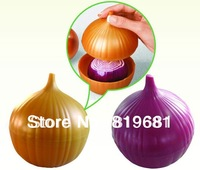NEW ARRIVAL!Onion fruit, vegetable container,saving box,Onion saver,fresh Storage Box,keeper case, crisper,preservation box,2PCS