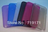 2pcs/lot free ship 0.3 mm Ultra Thin Case for Samsung Galaxy Note II 2 N7100 +1pcs flim