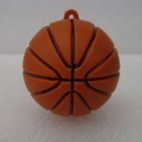 Novelty 4GB 8GB 16GB 32GB rubber lively basketball shape USB 2.0 flash memory drive Pen good usb flash drive
