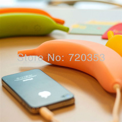 Wholesale Banana Modeling Telephone Handsets/Handheld Receiver for Apple iPhone 3G 4G 5G Free Shipping(China (Mainland))