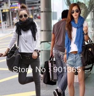 Free shipping!Ladies' Shawls Scarf, Can Be MUSLIM HIJAB, Cotton Drape Fashion Patchwork Shawls Scarf,Multicolor