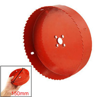 150mm Diameter Bimetal Hole Saw Wood Alloy Iron Cutter free shipping