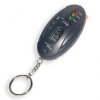 Keychain Alcohol Breath Tester with Timer and Flashlight