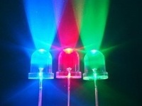 Colorful 5mm flicker rgb three-color led flash light beads led light emitting diode