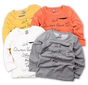 Wholesale 5pcs/lot New 2014 Spring Autumn Children Kids Clothing Boy's Girl T Shirt Long Sleeve Letter AA5180