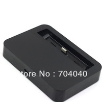 USB Base Charger Dock For Apple Iphone 5 5G New Iphone5 Power Adapter Cradle Docking Station Stand Desk  Black