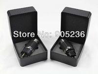 Acrolink Gold Plated EU Schuko power plug Carbon Fiber HiFi Plug connectors Adapter P50 & C50 black