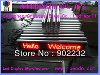 Free/fast ship/1pcs/MiniLED Display/Remtoe Keyboard/16*128pixels/SMD/led moving screen/Digital board/Manufacturer/car/Taxi leds