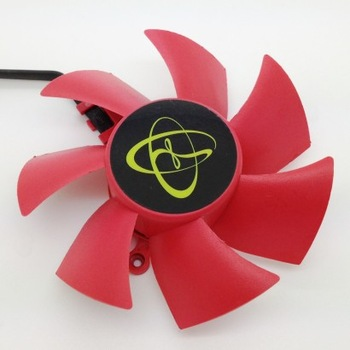 Hd5870 hd5850 ntk fd8025u12s 12v 0.48a dual ball bearing fan