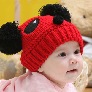 W010 autumn and winter baby hat child hat male hat ear protector cap