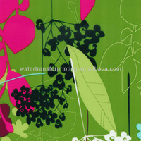 Flower Pattern Monitor Case/ Hydro Graphic Printing Film Width 100CM GAM145-1