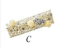 Free Shipping  Austrian crystal trendy hairpin high quality Neoglory Jewelry three elegant flower hotselling